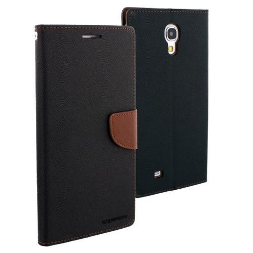 """WEL.COM Etui skórzane Fancy do Samsung Galaxy Tab 4 7"""" czarno-brązowe"""