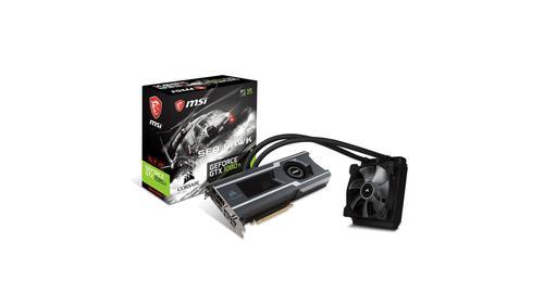 MSI GeForce GTX 1080 Ti SEA HAWK X 11 GB GDDR5X VR Ready