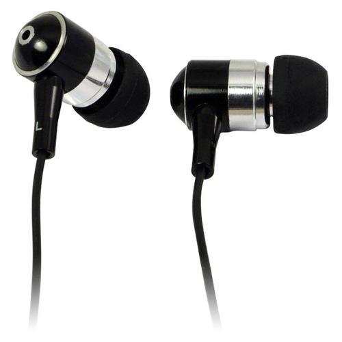 LogiLink Słuchawki do Mp3/tel, douszne - czarne HS0015