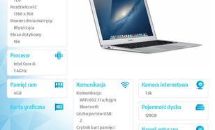 Apple MacBook Air 11.6/1.4GHz i5/4GB/128Flash/MD711PLB