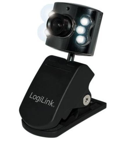 LogiLink Kamera internetowa LED USB 2.0 UA0072