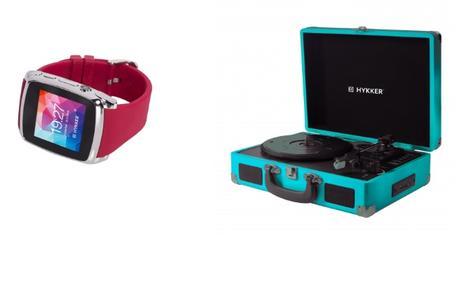 Smartwatch i Przenośny Gramofon – 2 Nowości Hykker Już w Biedronce