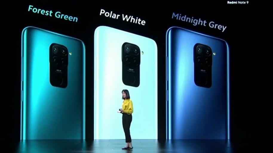 Redmi Note 9 postawi na stonowane kolory