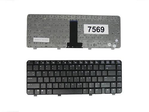 Qoltec Klaw. do noteb. HP DV2000 V3000 BL