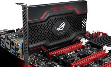 ASUS wprowadza na rynek RAIDR Express - dysk SSD oparty na PCI Express