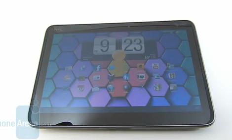 HTC Jetstream - prezentacja tabletu