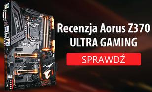 Gigabyte Z370 AORUS Ultra Gaming - Recenzja Płyty Głównej