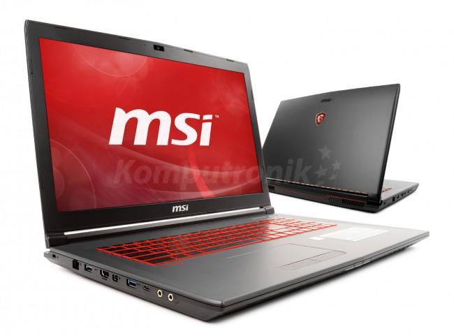 MSI GV72 8RE-053XPL - 120GB M.2 + 1TB HDD | 16GB