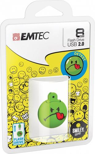 EMTEC Pendrive 8GB Smilley World Detest SW105