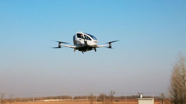Dron-Taksówka - Przyszłość Transportu?