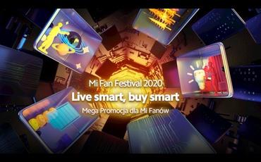 Promocja Xiaomi na 10-lecie istnienia firmy - Xiaomi Mi Fan Festival 2020