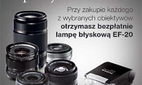 """""""Zapanuj nad światłem"""" - nowa promocja od firmy Fujifilm"""