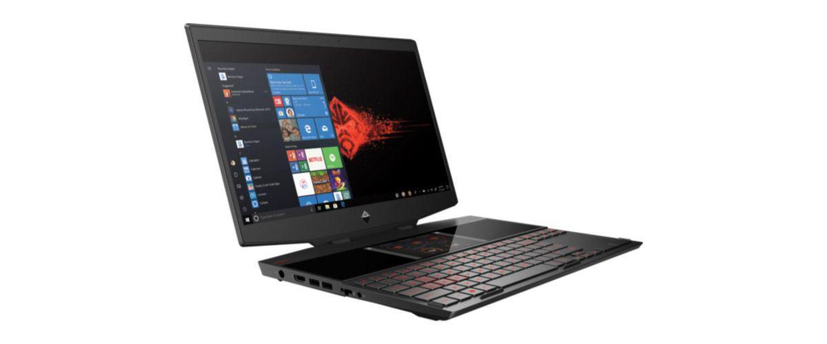 HP OMEN X 2S - dwa ekrany w laptopie gamingowym
