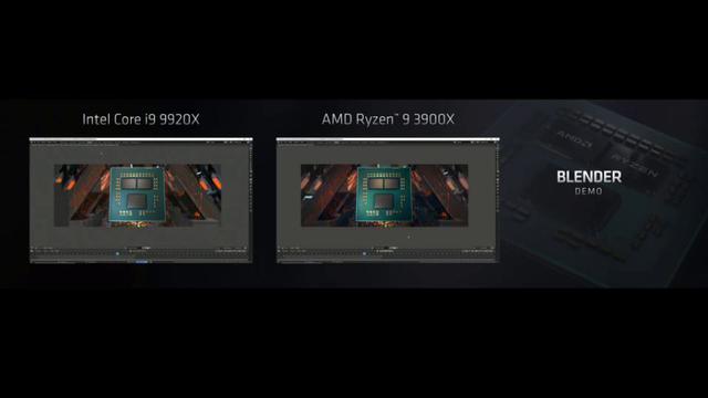 i9-9920X vs Ryzen 9 3900X