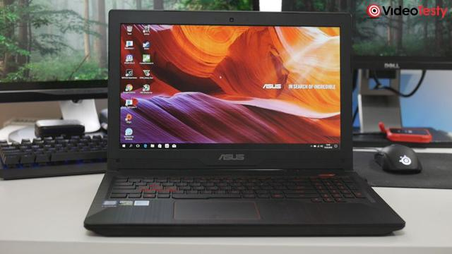 AsusFX503VD front notebooka