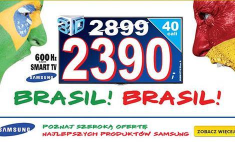 Piłkarska promocja - sprawdź Telewizory w super cenach!