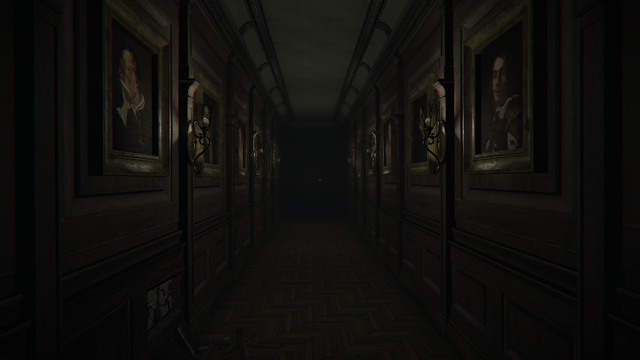 Layers of Fear Korytarz
