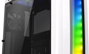 Thermaltake Versa C22 RGB Midi-Tower, Biały, Okno (CA-1G9-00M6WN-00)