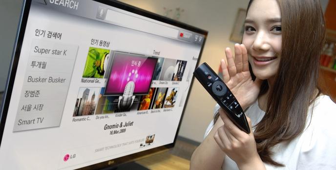 """Nowy pilot LG """"Magic Remote"""" – rewolucja w obsłudze telewizorów"""