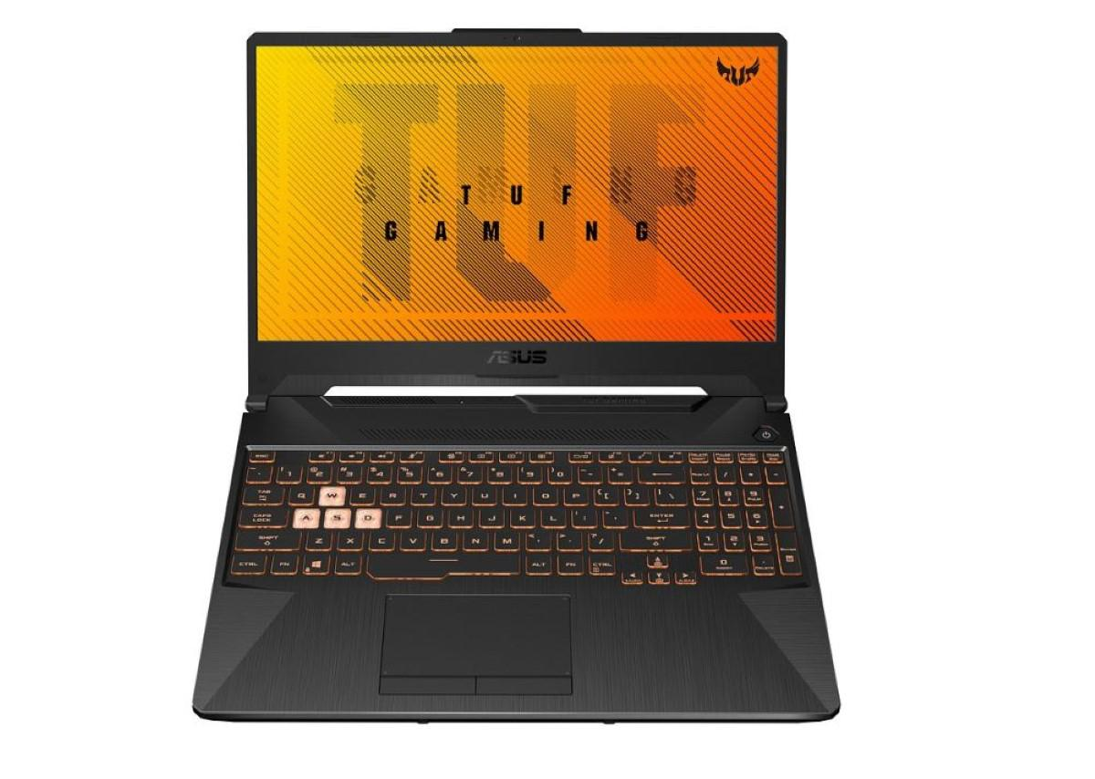 Podświetlana klawiatura w Asus TUF 2020