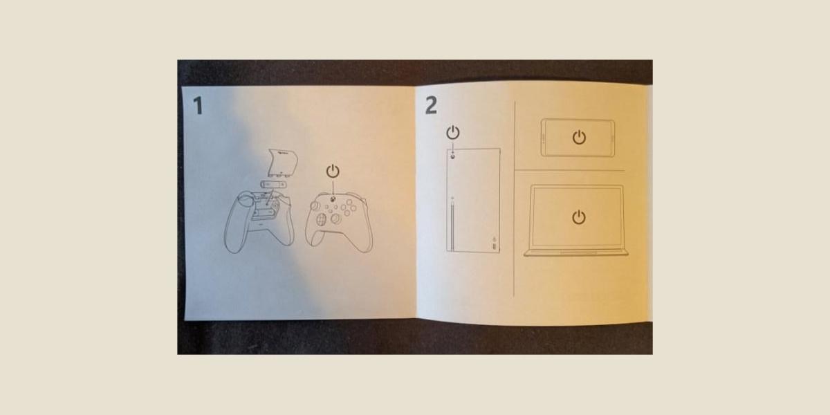 Instrukcja pada do Xbox Series X i Xbox Series S (fot. The Verge)
