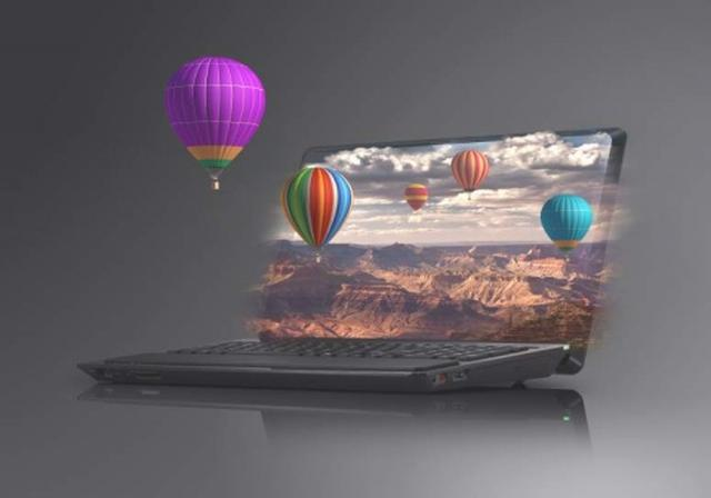 Sony VAIO F - laptop 3D