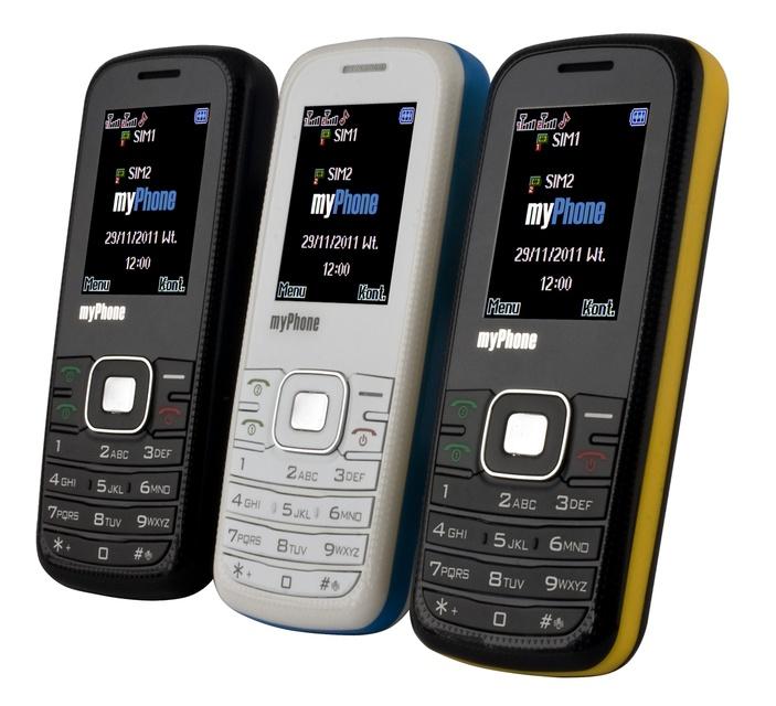 Tani Dual SIM receptą na kryzys - myPhone 3020 BUENO