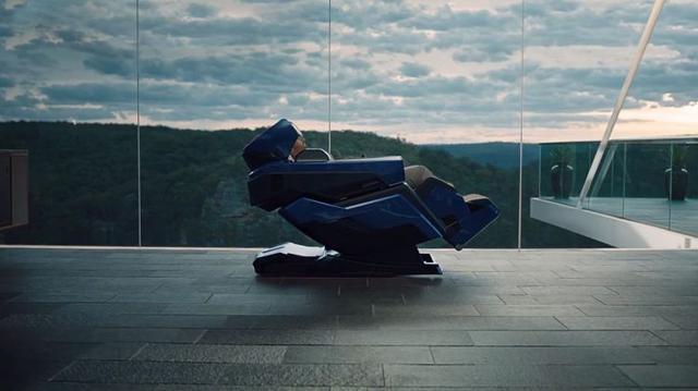 Fotel do masażu od Lamborghini i Bodyfriend - Jest prestiżowo