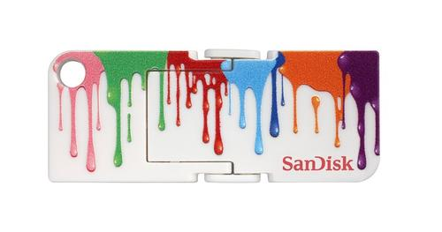 SanDisk Cruzer Pop 16GB Paint