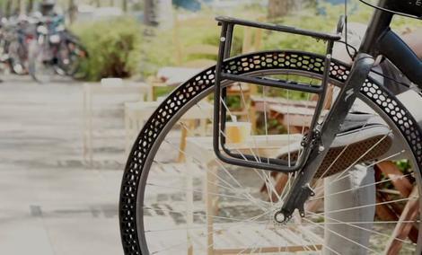 Opona rowerowa z drukarki 3D - Jej nie przebijesz