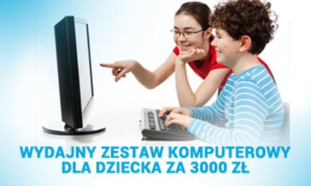 Wydajny Zestaw Komputerowy Dla Dziecka za 3000 zł