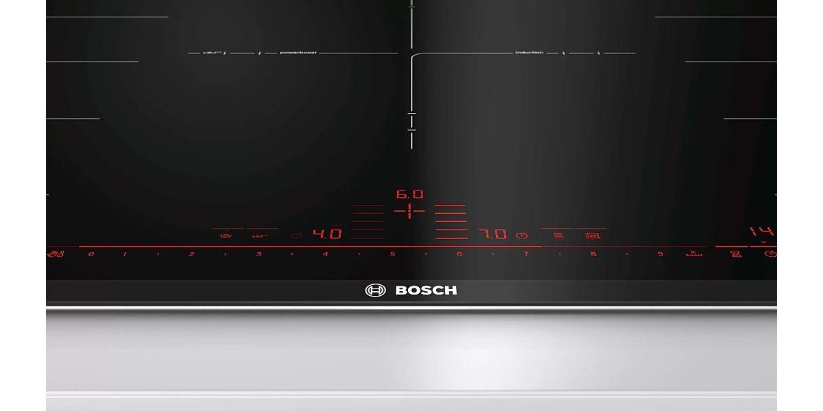 elementy sterujące w płycie indukcyjnej Bosch
