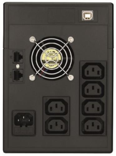 Lestar UPS V-2000 AVR LCD 6xIEC USB RJ 45