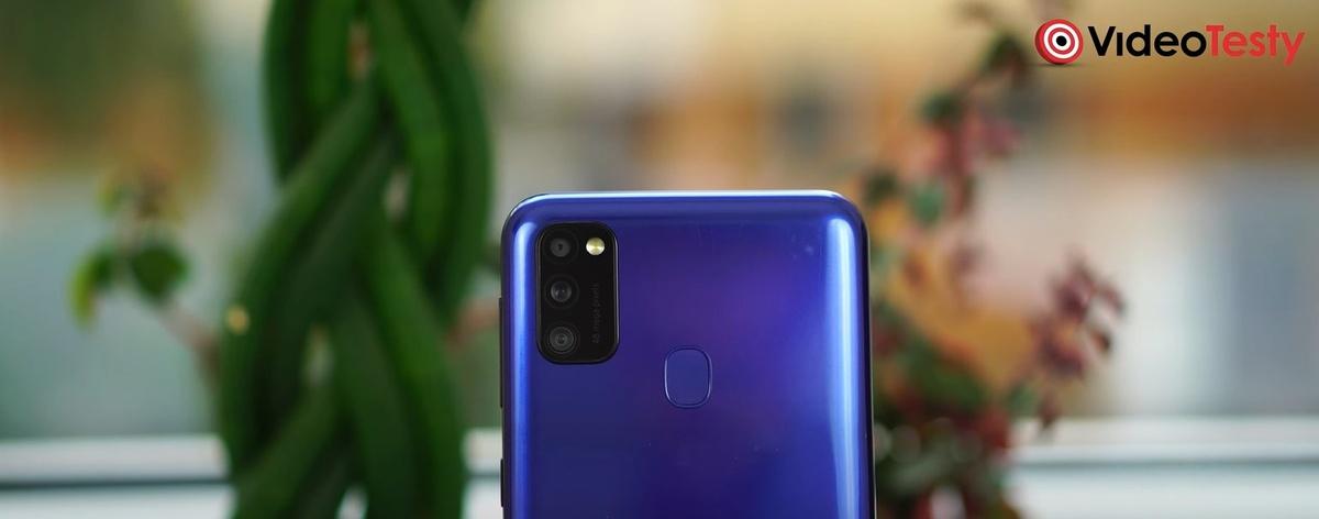 Samsung Galaxy M21 nie bije rekordu ilości aparatów