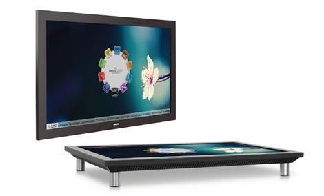 Wielodotykowy ekran i stół w jednym w nowej serii rozwiązań Digital Signage PHILIPS BDT