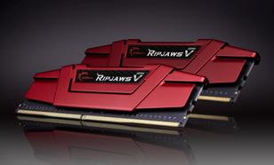 G.Skill Ripjaws V DDR4, 2x8GB, 2666MHz, CL19 (F4-2666C19D-16GVR)