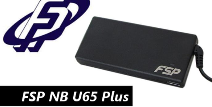 Uniwersalny adapter do notebooków - FSP NB U65 Plus