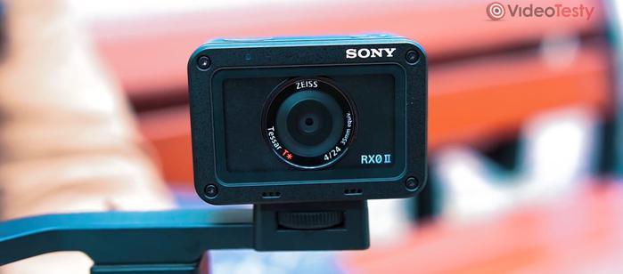 """Sony RX0-II mocujemy na standardowej śrubie 1/4"""""""