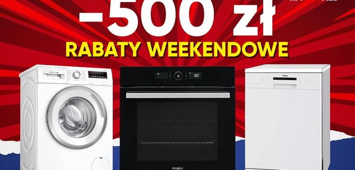 Promocje na weekend - Taniej nawet o 500 złotych!