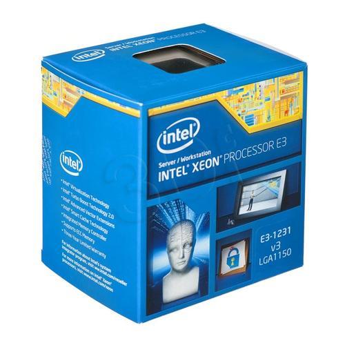 INTEL XEON E3-1231V3 BOX