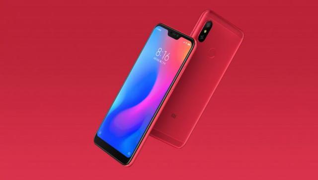 Xiaomi Redmi 6 Pro czerwony