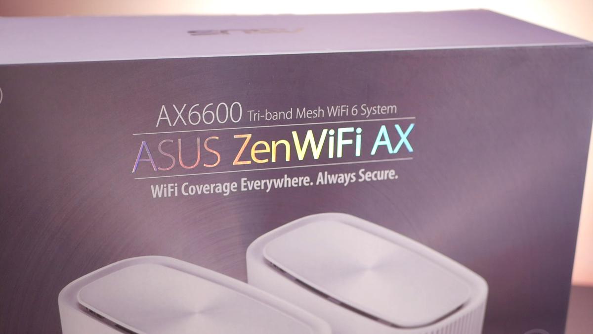 Pudełko Asus ZenWiFi XT8