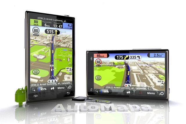 Finalna wersja AutoMapy Android już w Google Play!