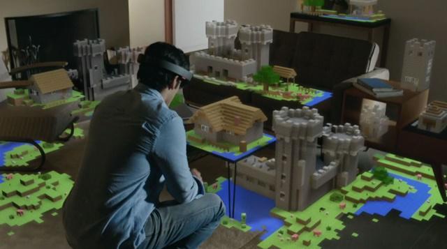 Minecraft na VR