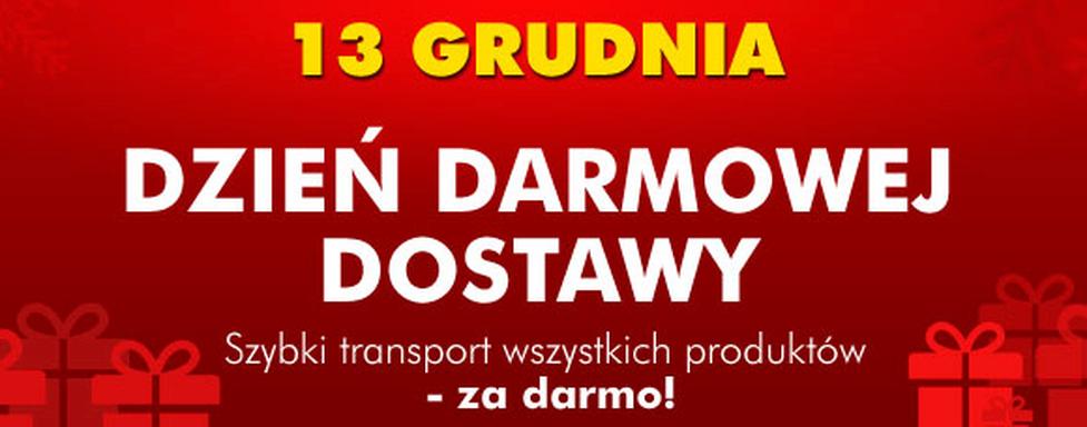 Tylko dziś – 13.12.2011 - Dzień Darmowej Dostawy w EURO.com.pl