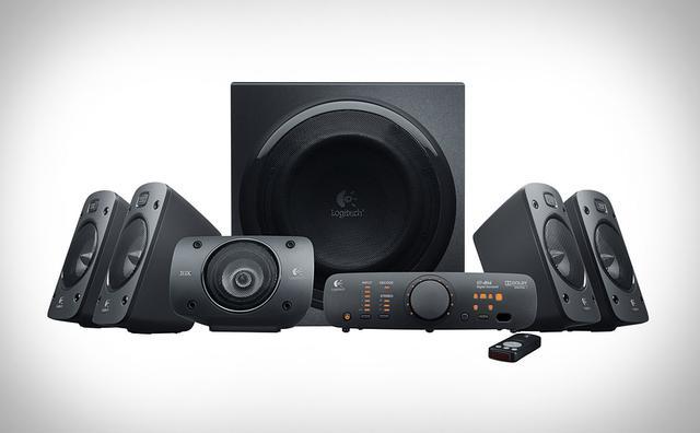 Logitech Speaker System Z906 - zaawansowane głośniki komputerowe