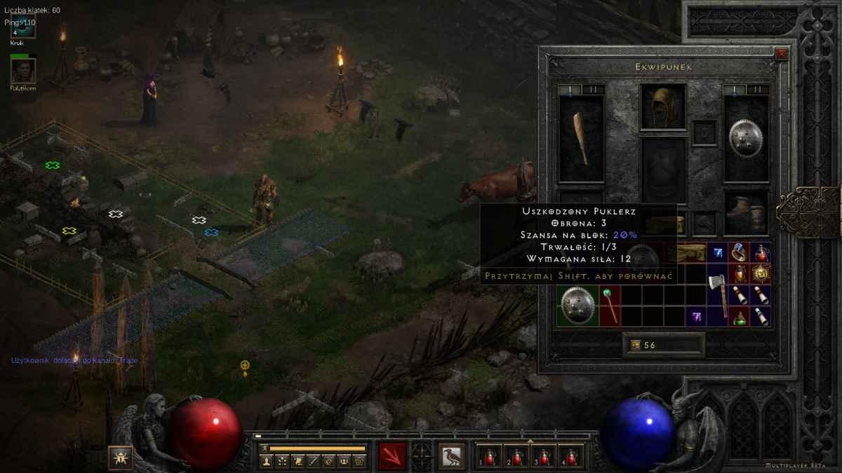 Diablo II: Resurrected - Ekwipunek Druida