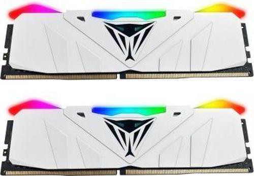 Patriot VIPER RGB DDR4 16GB DUAL KIT ( 2x8GB) 2666MHz CL15 Biały