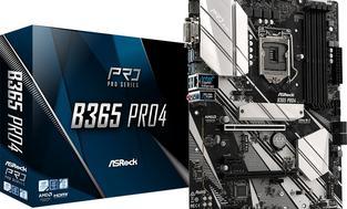 ASRock B365 PRO4, 1151, DDR4 2666, 6 SATA3, HDMI, DVI-D, D-Sub, USB