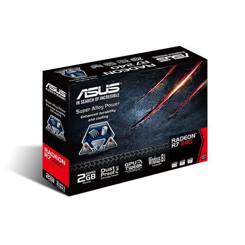 Asus Radeon R7 240 2GB DDR3 128BIT PCI-E DVI/HDMI BOX